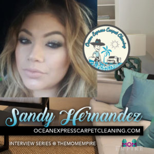 Sandy Hernandez, Ocean Express Carpet Cleaning