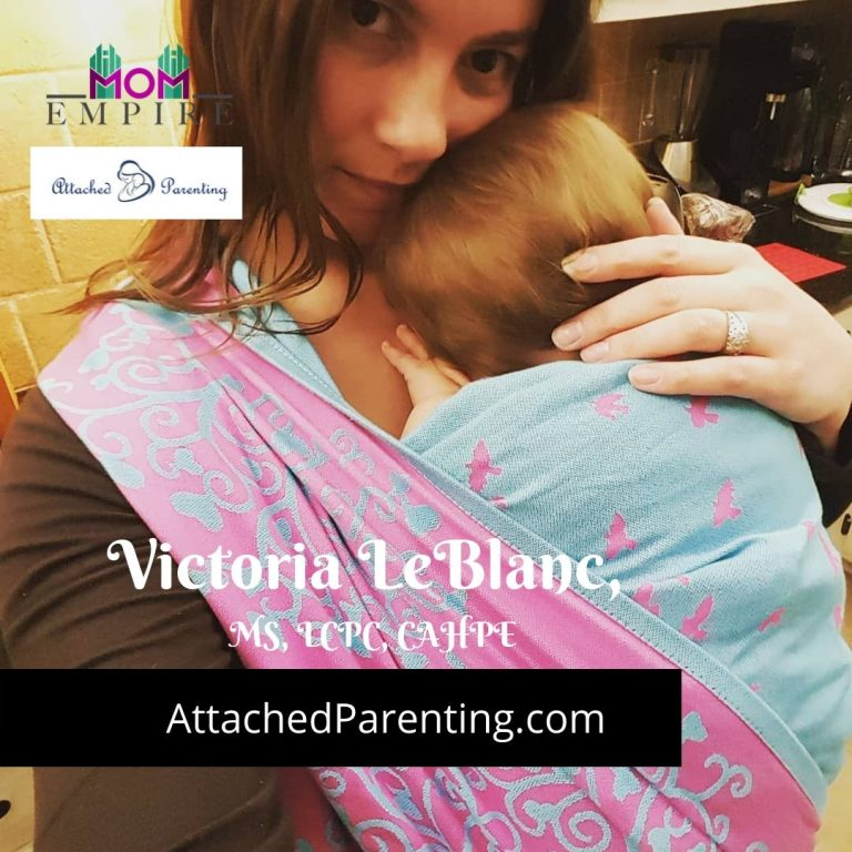Victoria LeBlanc, Attached Parenting