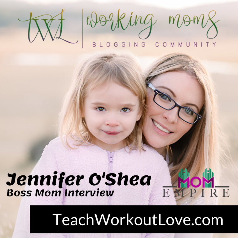 Jennifer O'Shea, Teach Workout Love